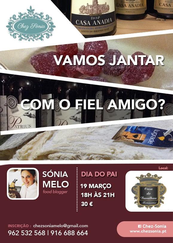 19-3-2016 Vamos Jantar Fiel Amigo - Casa do Bacalhau